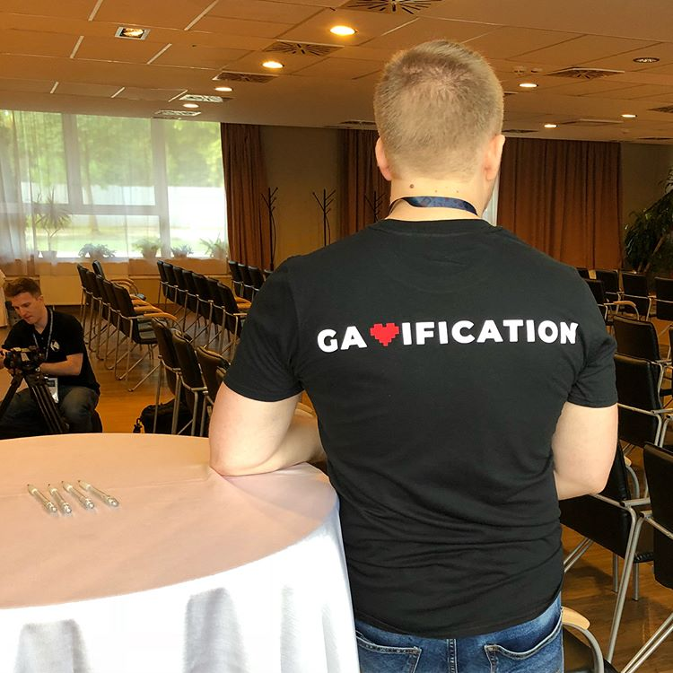 I love gamification póló